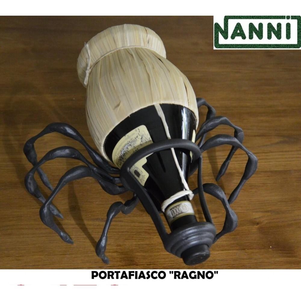 Porta Fiasco porta bottiglie vino Ragno